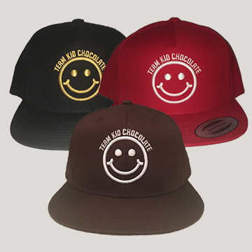 Team Kid Chocolate Hats