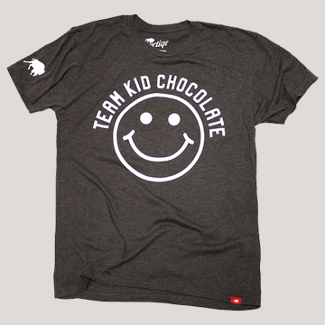 Brown Team Kid Chocolate Tee by Sportiqe