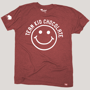 Red Team Kid Chocolate Tee by Sportiqe